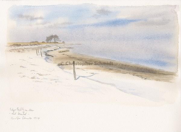Ostseeküste Dezember (verkauft)